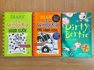 Dirty Birty Book,diary Of A Whimpy Kid, Long Haul, Hard Luck