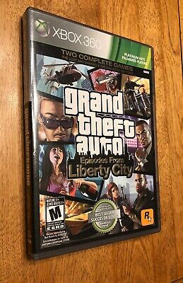 Grand Theft Auto Episodes From Liberty City (Xbox 360, 2009) VG