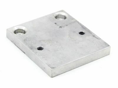 Aluminium 8mm Industrie-Platte 2x 5,4mm Hole - Ø 2x M5 Thread Mount 64x56mm
