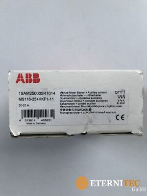 Abb 1SAM250005R1014 MS116-25+HKF1-11 Motor Protection Switch + Auxiliary New