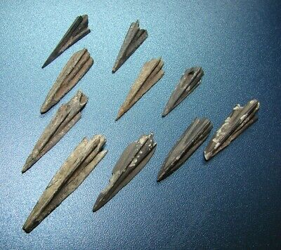 Ancient  arrowheads  bronze. VERY RARE. ORIGINAL 87