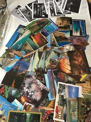 Lot of Vintage Postcards Chrome Posted And Unposted