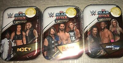 Slam Attax Universe 12 X Mini Tins BRAND NEW SEALED