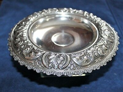 Sterling Silver Compote Dominick and Haff Repousse Spaulding & Co