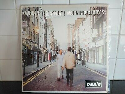 Oasis (Whats The Story) Morning Glory Rare 1st Pressing - Double Gatefold Vinyl