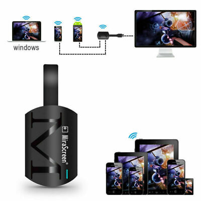 MiraScreen G4 Wireless 1080p HD TV Stick Dongle Crome Cast HDMI WiFi Receiver