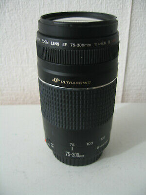 Canon 75-300mm F4 EF III ultrasonic zoom lens. film / digital. NEX, 4/3rds etc