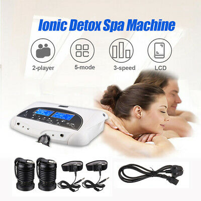 Ionic Detox Ion Foot Bath Spa Health Machine LCD Display With Cleanse Fir Belt