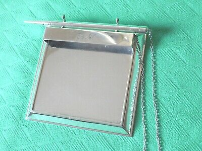 CARTIER Sterling Silver Notepad Holder with attached Pencil Desk Set