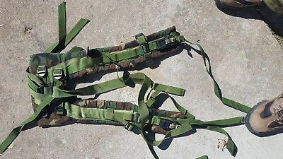 MOLLE II US Army SDS Woodland  Shoulder Straps w Quick Release GI Free Shipping
