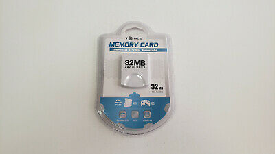 *NEW* Tomee 32MB Memory Card for Wii & Gamecube *NEW*
