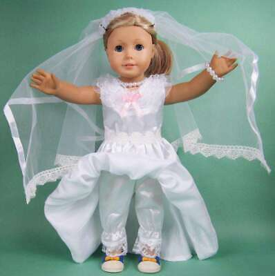 Handmade Doll Clothes Fashion Dress Accessories Lot For 18 inch Toy Girl Outfit