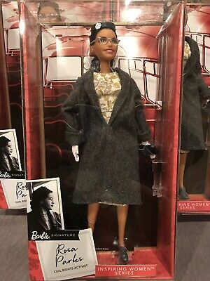 Rosa Parks Barbie Doll Inspiring Women Collection 2019 NEW Preorder