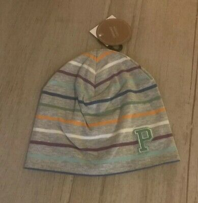 NEW Polarn O. Pyret Cotton Beanie Hat - 1-2 Years
