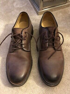 The Frye Company Mens Leather Lace Shoes Size 10