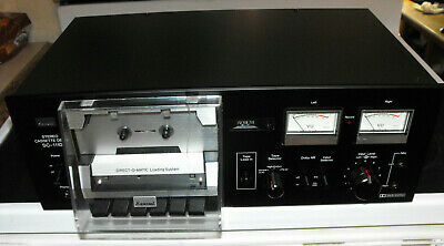Sansui SC-1110 Restored Cassette Deck, New Electrolytic Caps, New Belts