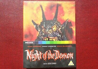 NIGHT OF THE DEMON (1957) - INDICATOR Limited Ed. Blu-Ray NEW SEALED