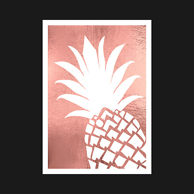 Pepperoni /& Pineapple Pizza With Fruit /& Veg FOD005 Art Print A4 A3 A2 A1