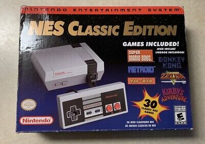 Nintendo Entertainment System: NES Classic Edition - Boxed - See Video