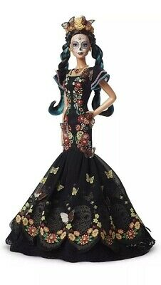 BARBIE Dia De Los Muertos - Day of The Dead Mexican Doll  IN HAND Free Ship