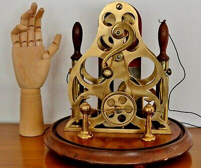 Antique Steampunk Quack Medical Magneto Shock Therapy Devise Very Rare