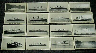 Vintage Murray's Steam Ships Cigarette Cards