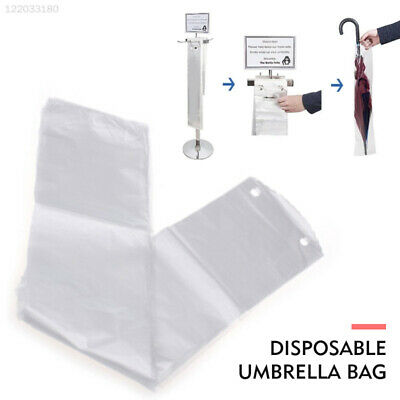 9E49 100pcs Disposable Umbrella Bag Hotel Shop Convenient Disposable Bag