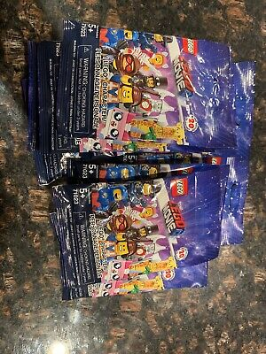 LEGO Movie 2 Mini Figures - Series # 71023 - Lot of 11 Blind Bags New Sealed