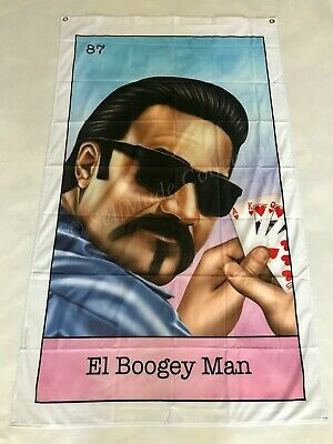 El Boogey Man 3ftx5ft flag banner Blood In Blood Out chicano limited edition new