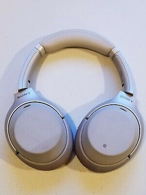 WH-1000XM3/B Sony Bluetooth Wireless Noise Canceling Stereo Headphones - Silver