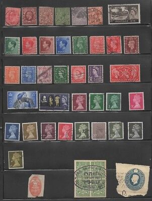 Great Britain - Small Collection Mostly Early - 66 Different (Lot Gb 3)
