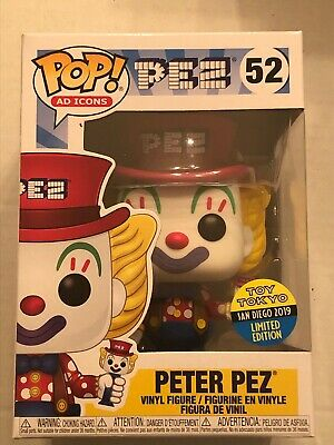 Funko Pop Ad Icons Peter Pez 2019 SDCC Toy Tokyo Protector