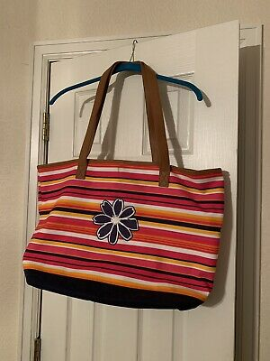 Thirty One Lakeside Tote in Brush Strokes NWT