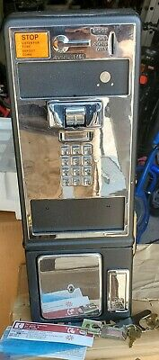 Vintage Push Button Pay Phone. New, open box, missing the handset.