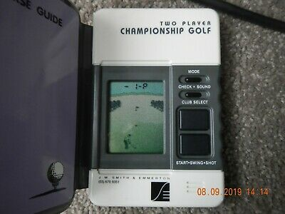 Tandy Golf Championship Game 2 Player Model 60-2239