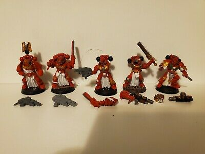 Warhammer 40k Space Marines SternGuard Sternguards Blood Angels x5