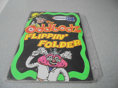 Used ODDBODZ Flippin' Folder Space Glow Zone Smiths Snack Foods Potato Crisps