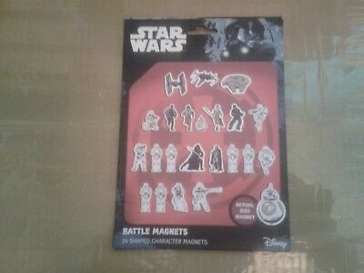 Star Wars Disney Battle Magnets Pack Of 24 From Rogue One New & Sealed  Rare