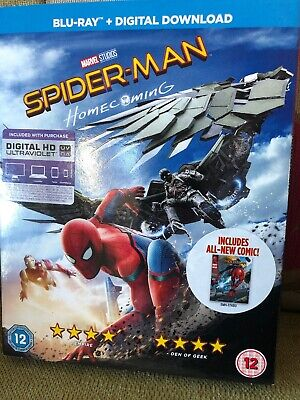 Spider-Man Homecoming (Blu-ray, 2017)
