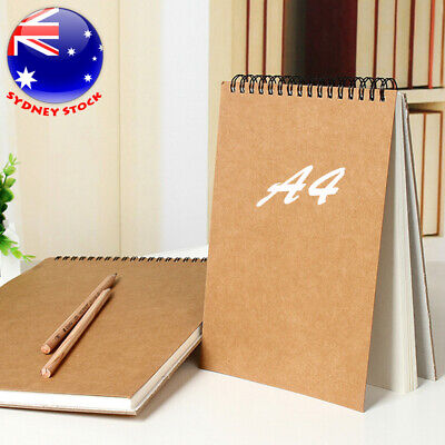 A4 Sketch Pad 120gsm 30 Sheets Artist Drawing Painting Art Paper Sketch Book