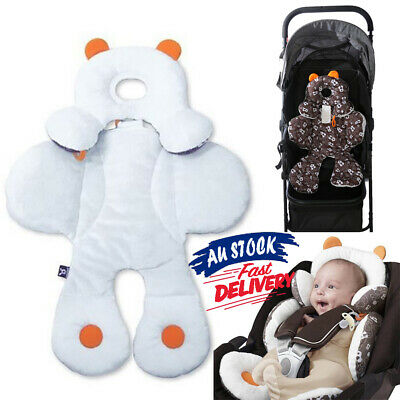 Newborn Body Support Pillow Cushion Pad Car Seat Liner Stroller Head Mat Baby