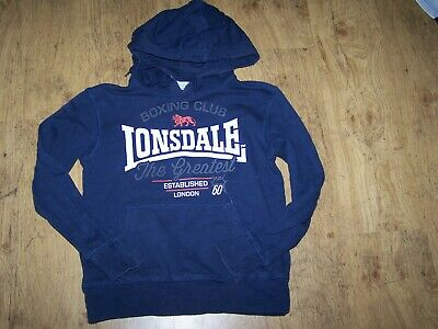 """""""Lonsdale"""" Boys hoodie size 10"""