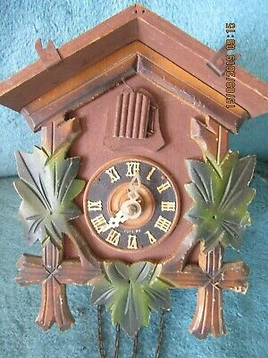 German Made Cuckoo Clock spares or repair project