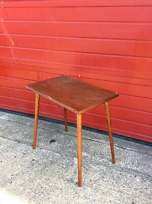 Vintage Wooden Table, Mid Century Coffee / Side Table, Retro, Upcycling Project