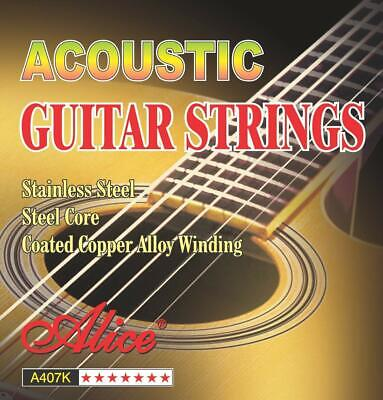 Acoustic Guitar Strings Coated Copper Alloy Wound Steel Replacement Strings
