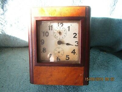 Very unusual Arts and crafts clock with 38 comb musical westminster chime