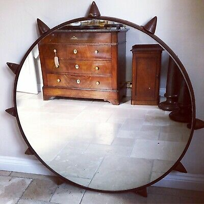 Large Heavy Unique Mirror Ship Salvage Reclaimed Nautical Capstan Winch Anchor