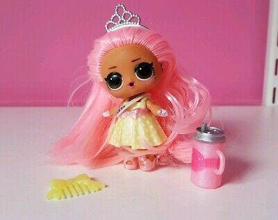 Lol Surprise Doll Hairgoals Wave 2 Prom Princess toy doll pink hair