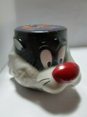 Sylvester the Cat plastic mug Looney Tunes. Brand new & sealed