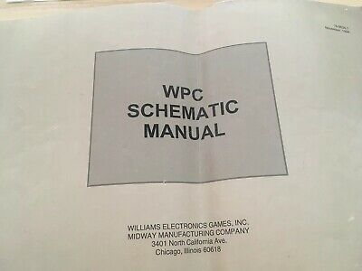 Wpc Shematic Manual Willuams